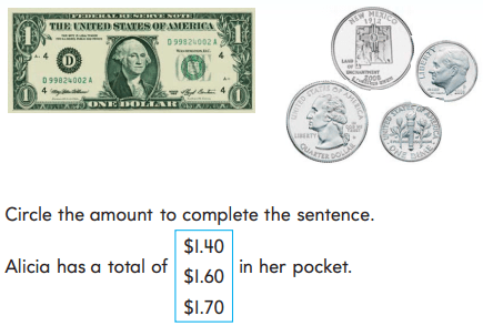 Go Math 2nd Grade Answer Key Chapter 7 Money and Time rt 7