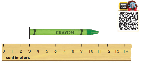 Go Math Answer Key Grade 2 Chapter 9 Length in Metric Units 9.3 9