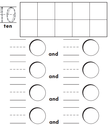 Go Math Answer Key Grade K Chapter 4 Represent and Compare Numbers to 10 4.1 6