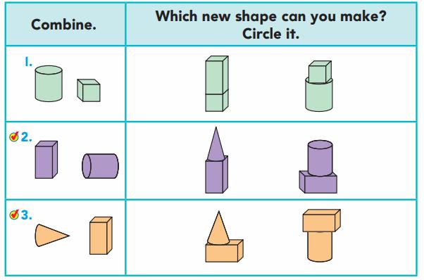 Go Math Grade 1 Answer Key Chapter 11 Three-Dimensional Geometry 46