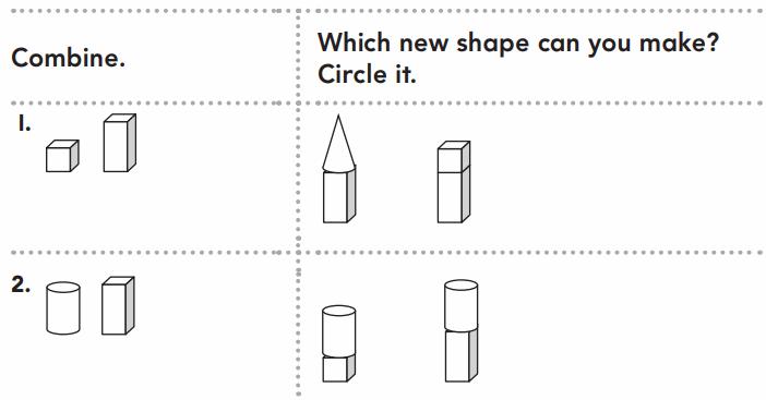 Go Math Grade 1 Answer Key Chapter 11 Three-Dimensional Geometry 52.1