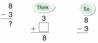 Go Math Grade 1 Answer Key Chapter 4 Subtraction Strategies 28.1