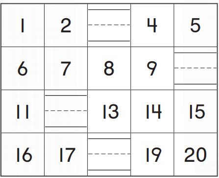 Go Math Grade K Answer Key Chapter 8 Represent, Count, and Write 20 and Beyond 8.3 6