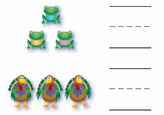 Grade K Go Math Answer Key Chapter 2 Compare Numbers to 5 64