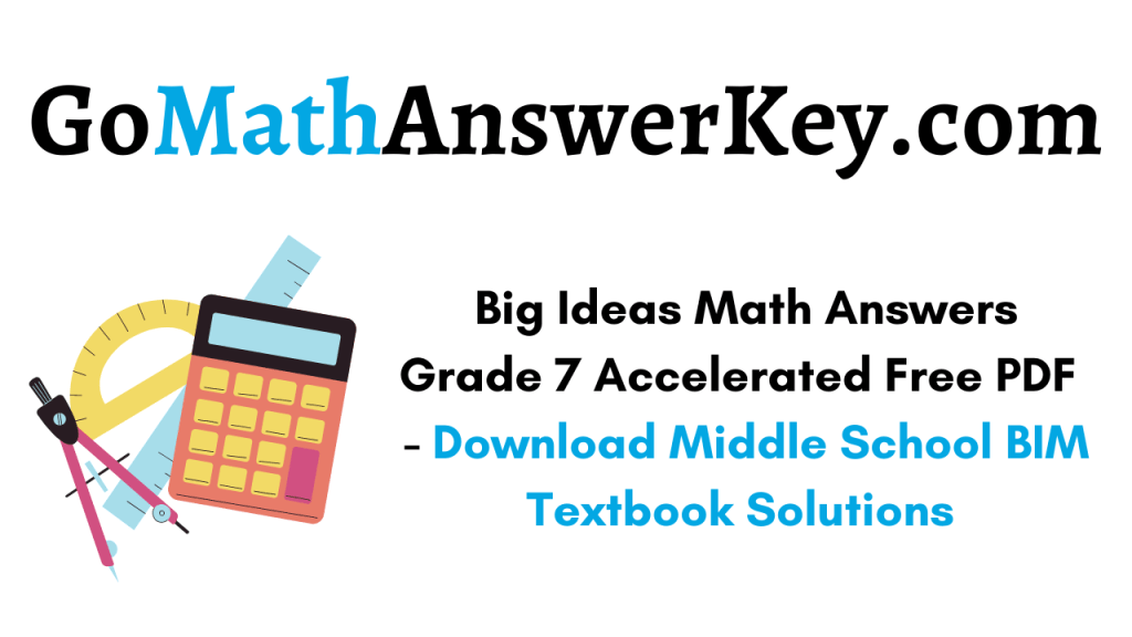 big ideas math answers grade 7 accelerated pdf download