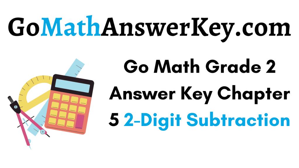 Go Math Grade 2 Answer Key Chapter 5