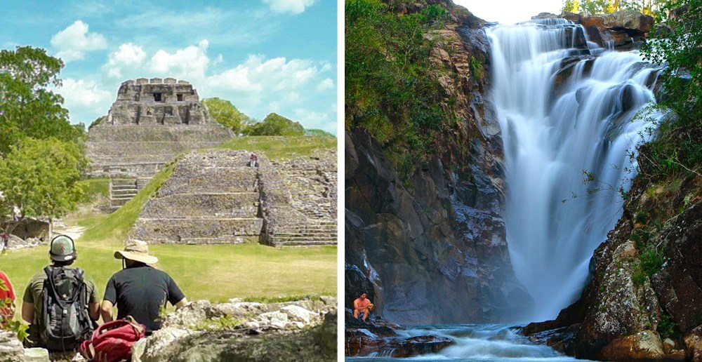 Xunantunich and Big Rock Falls GoMaya
