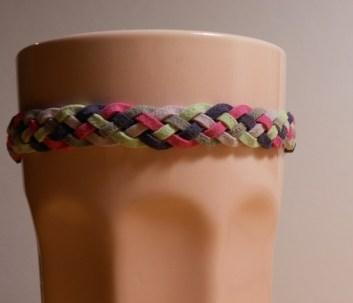 rózsaszín-világoslila-sötétkék -szürke-menta