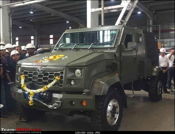 Tata Merlin LSV | Indian Army Vehicles