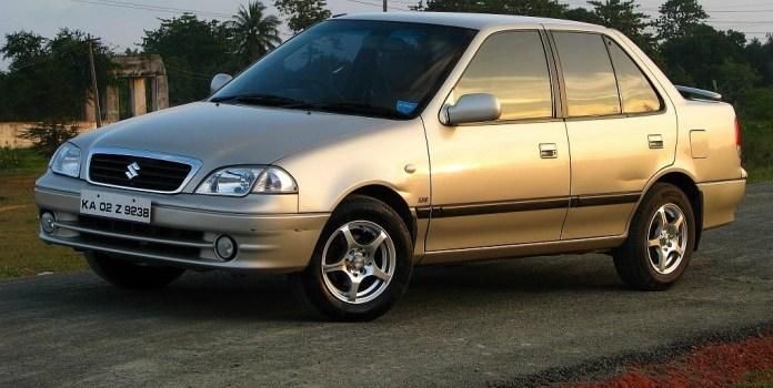 10 Iconic Discontinued Cars In India | Maruti Suzuki Esteem