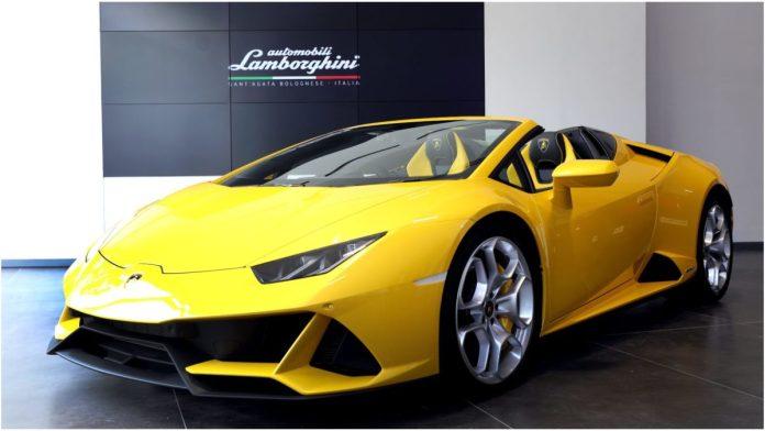 Lamborghini Launches Huracán Evo Spyder In India For ₹4.1Cr
