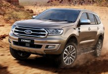 Over 700 Ford Endeavour Sold In October