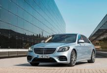 Next-Gen Mercedes-Benz S-Class Partly Sheds Camouflage