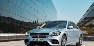 Next-Gen Mercedes-Benz S-Class Partly Sheds Camouflage