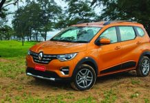 Renault Triber Turbo Petrol Variant which is Expected to launch on march 2020