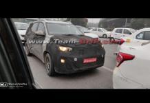 Kia QYI Sub-Compact SUV Spied Testing in Delhi   Pic credits: Team-BHP
