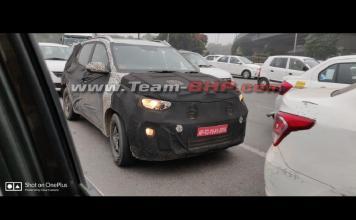 Kia QYI Sub-Compact SUV Spied Testing in Delhi | Pic credits: Team-BHP