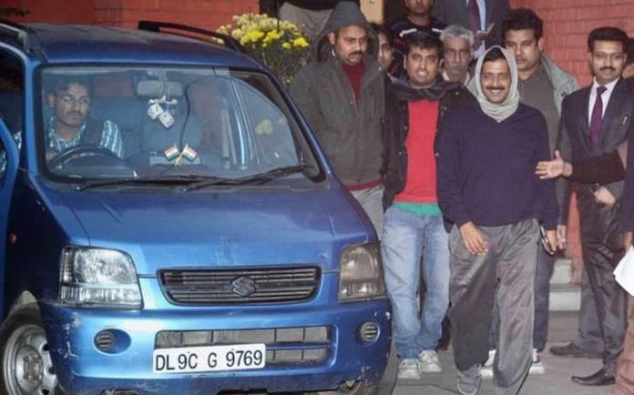 Arvind Kejriwal | THE MARUTI SUZUKI WAGON R