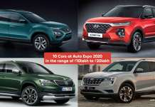 10 Cars at Auto Expo 2020 priced between ₹10lakh to ₹20lakh