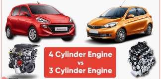 3 Cylinder Engine vs 4 Cylinder Engine: Mythbusted