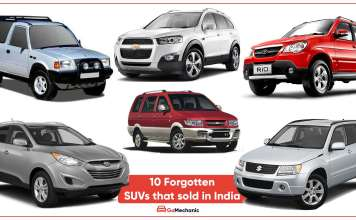 10 Forgotten SUVs that sold in India