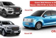 Great Wall Motors to Showcase Haval, ORA R1 EV at Auto Expo 2020