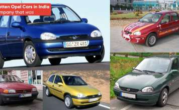 Forgotten Opel Cars in India