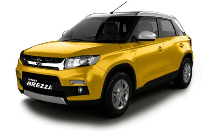 Vitara Brezza | Best Mileage Cars 2020