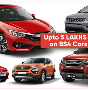 BS4 Cars and SUVs On Huge Discount: Upto 5 lakh off