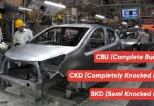 CBU (Complete Built-Up) vs CKD (Completely Knocked Down) vs SKD (Semi Knocked Down)