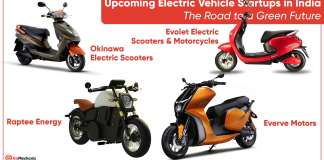 7 Upcoming Electric Vehicle Startups in India