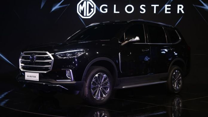 MG Gloster SUV
