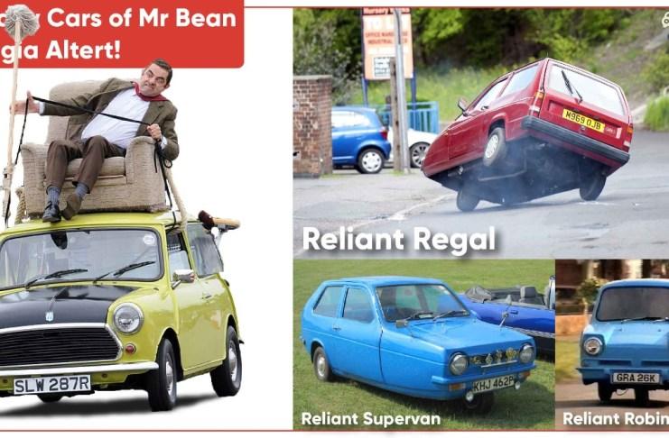 Mr Bean cars