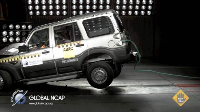 Mahindra Scorpio | Credits: Global NCAP