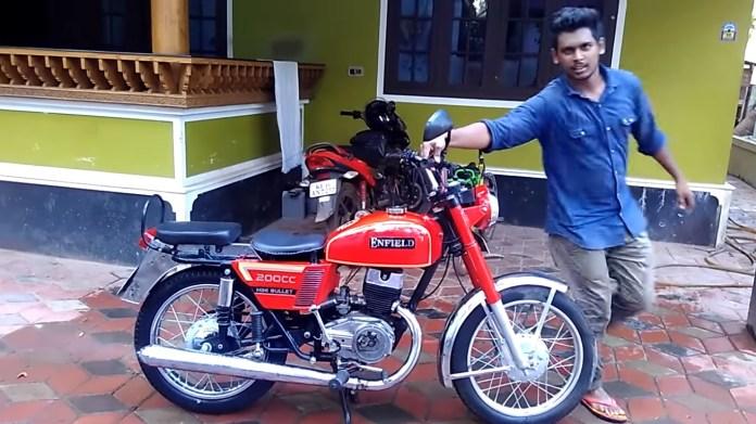 Royal Enfield Mini Bullet   Forgotten Bikes In India
