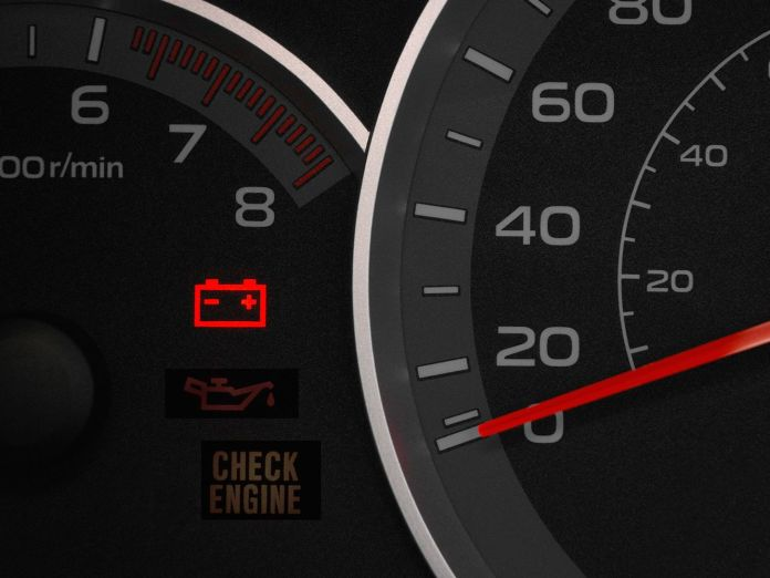 Battery Charging Dashboard Warning Light