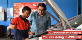 Top 10 most common car maintenance mistakes