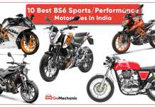10 BS6 Sports Sports/Motorcyles In India