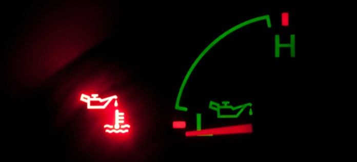 Engine Oil Pressure Dashboard Warning Light