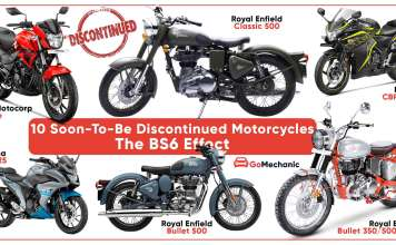 10 Soon To-Be-Discontinued BS4 Motorcycles In India