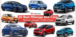 30 Best Mileage Cars Petrol, Diesel, CNG BS6 Cars