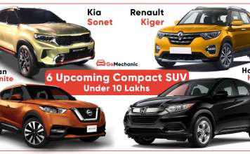 6 Upcoming Compact SUVs Under 10 Lakh
