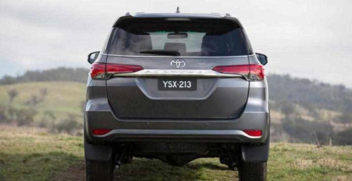 2020 Toyota Fortuner Facelift Leaked