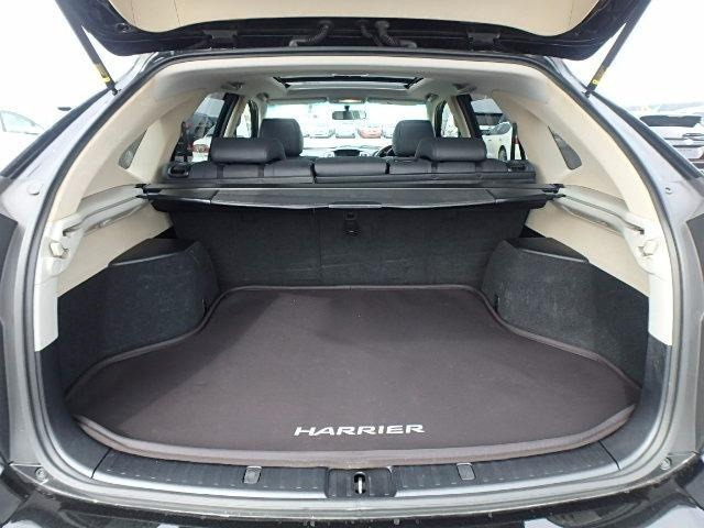 Toyota Harrier Boot Space
