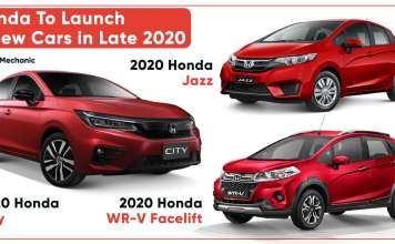 Honda To Launch 3 New Cars In Late