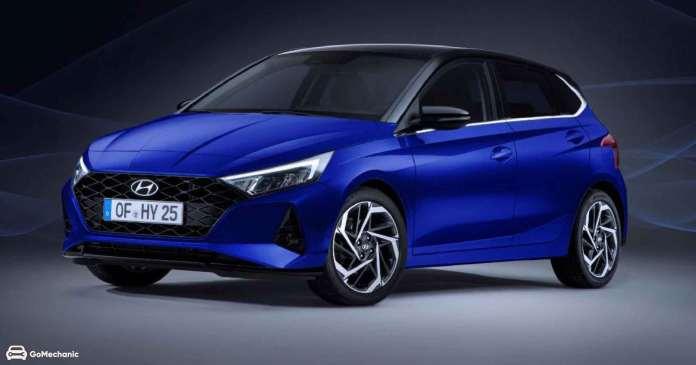 The 2020 - Hyundai i20
