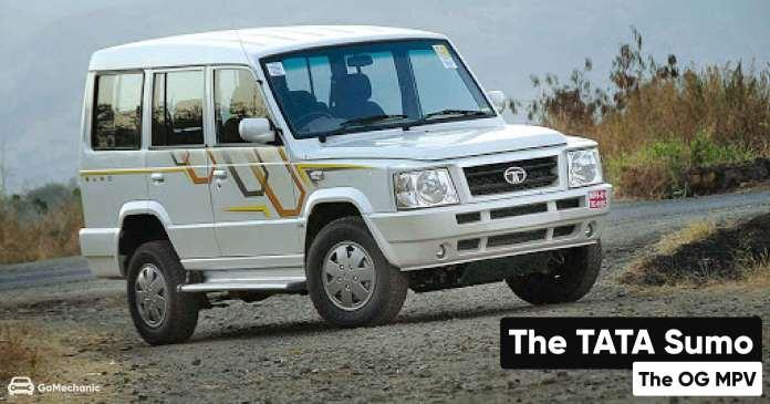 The TATA Sumo | The OG MPV