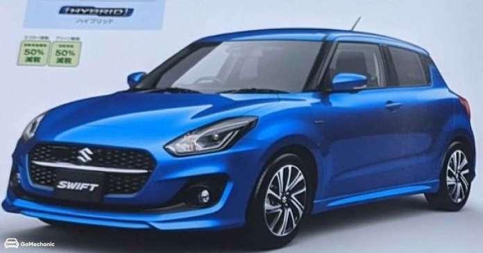 2020 Suzuki Swift Japanese Spec | Image ZigWheels