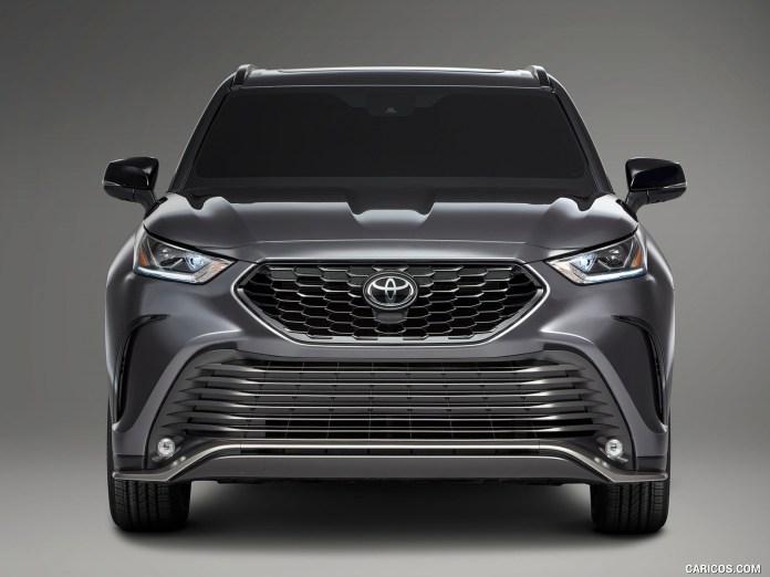 2021 Toyota Highlander Front