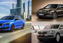 Skoda New launches